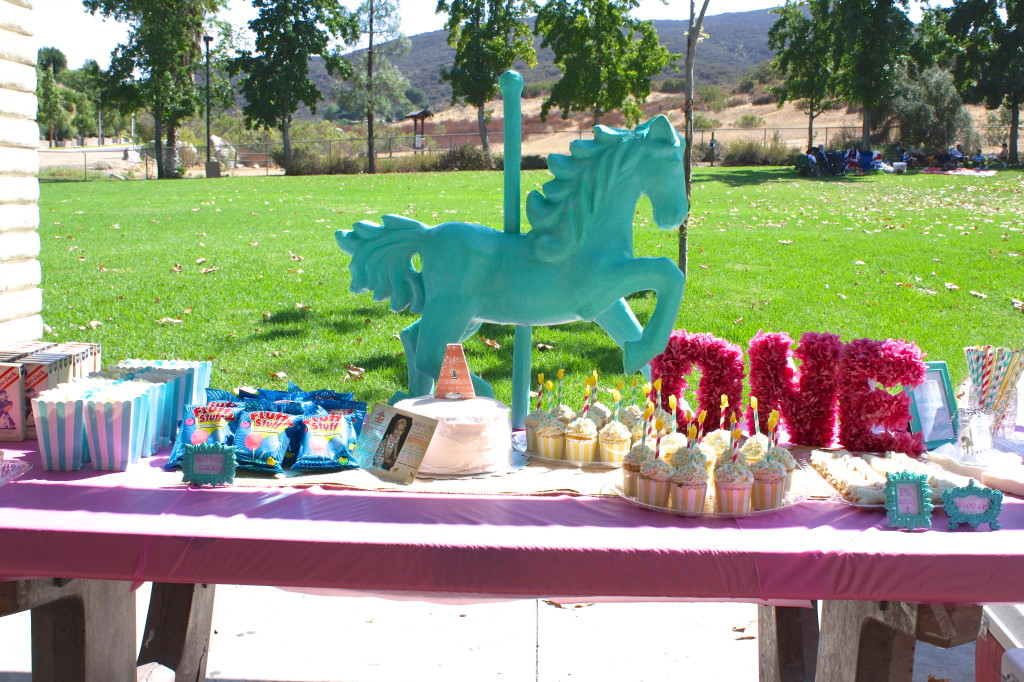 Carousel theme birthday, fun birthday themes, san diego wedding planner, event planners san diego