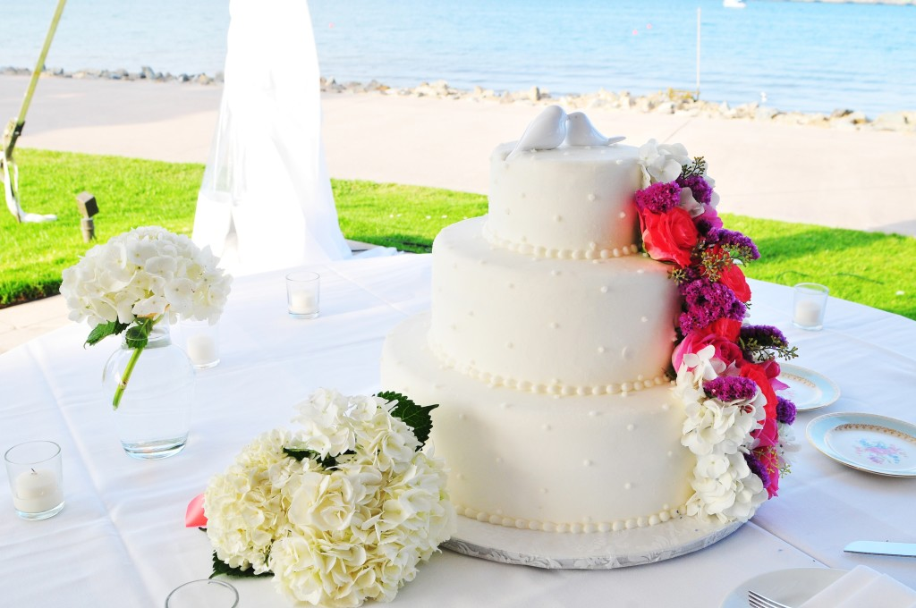 Wedding Cake, San Diego Wedding Cake, Wedding Planner in San Diego, San Diego Wedding Planner