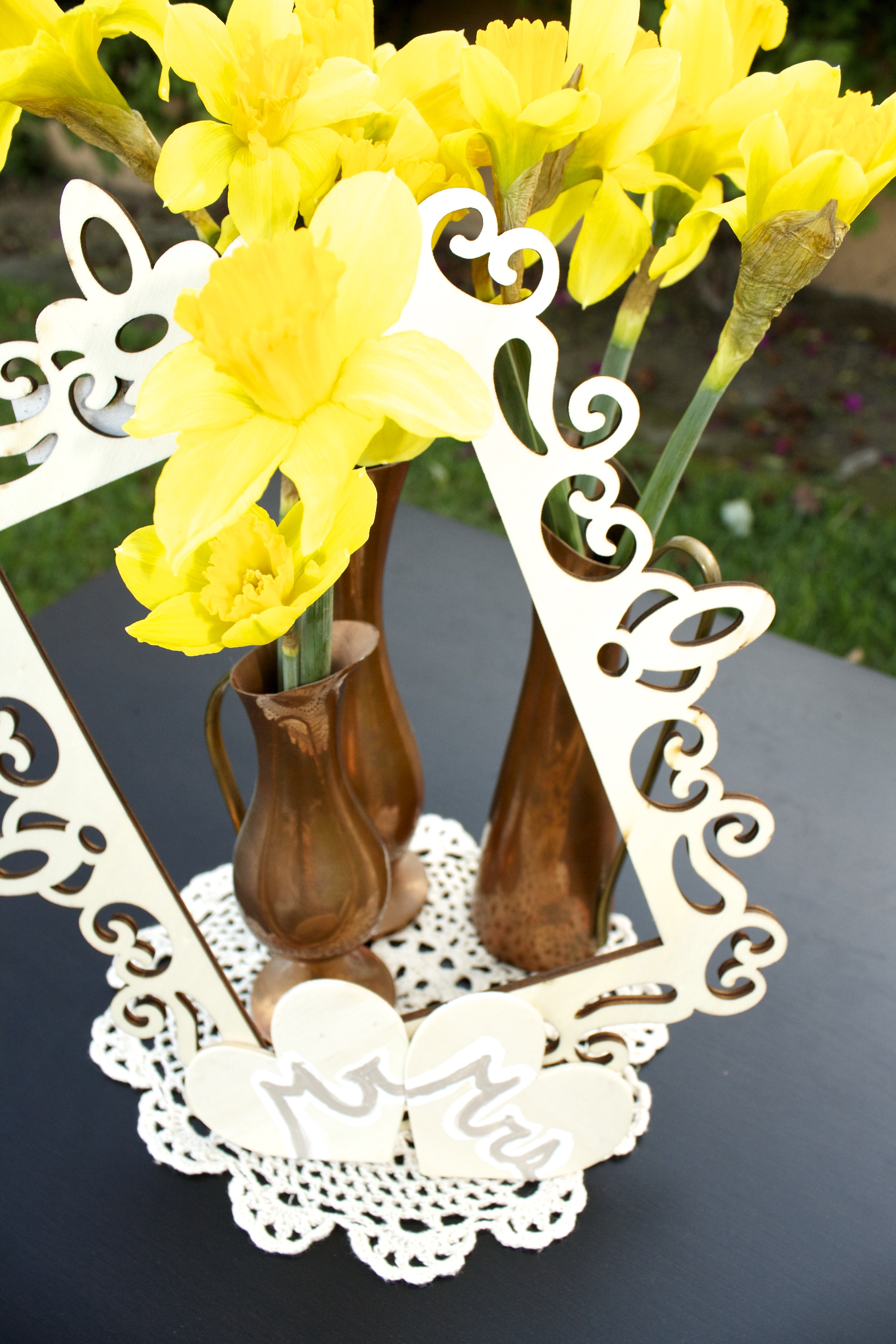 Cute And Simple Diy Centerpieces San Diego Wedding Planner