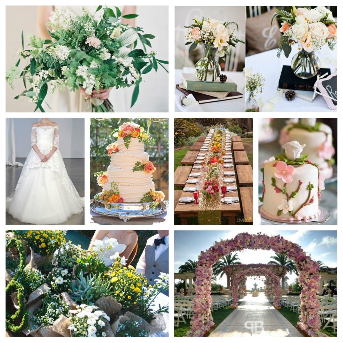 Spring Wedding Ideas: Simply Elegant Wedding Planning