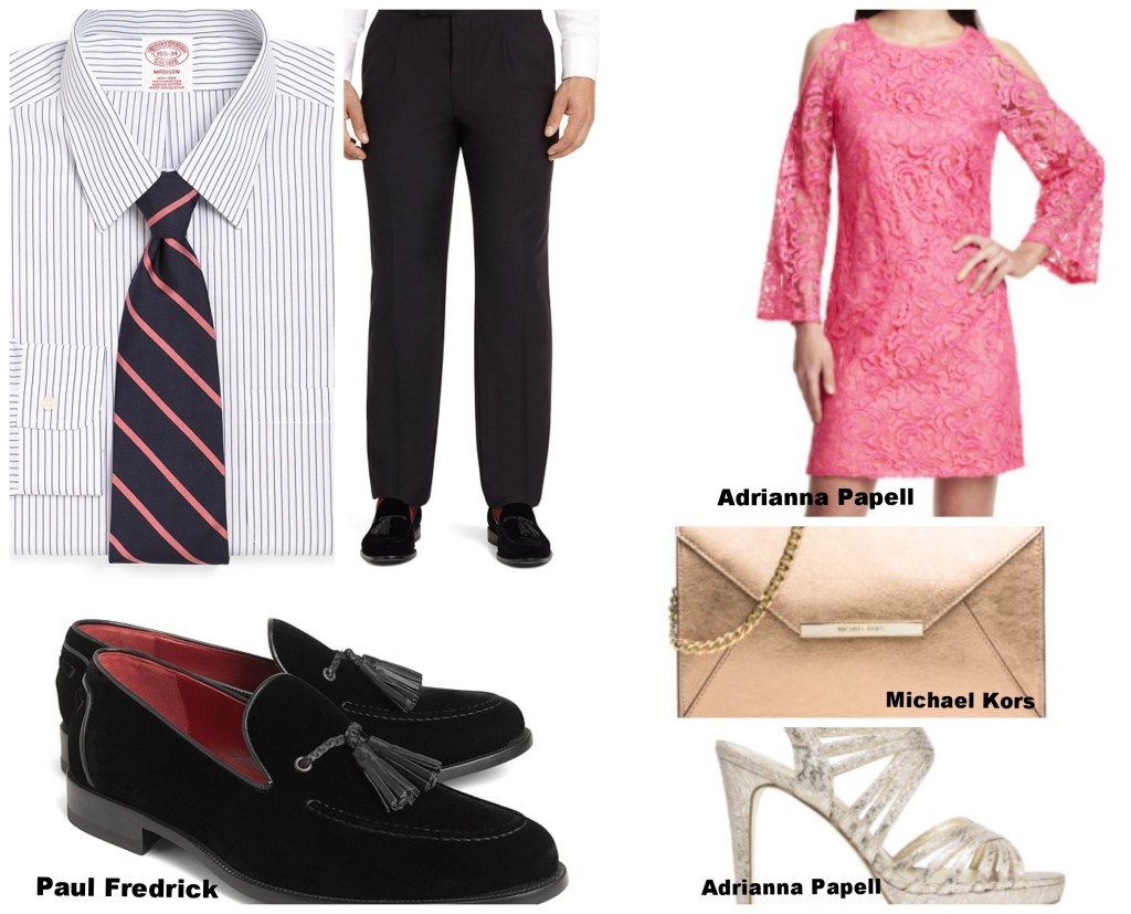 wedding outfits, what to wear to a wedding, paul fredrick, men's ware, men's wedding attire, Groom's suits, wedding looks, san diego wedding planner, wedding planning san diego, what to wear as a guest to a wedding, women's formal outfits, wedding outfit for women, clothes for wedding