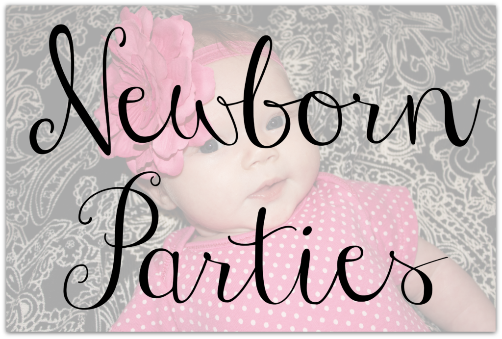 newborn parties button