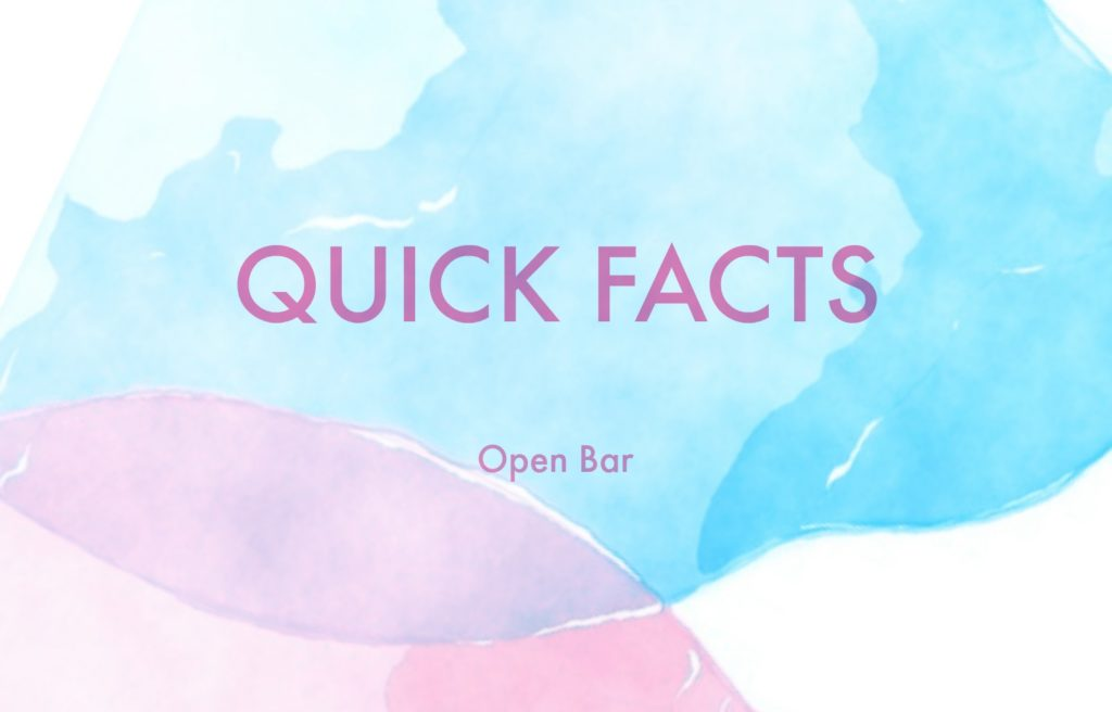 quick facts- bar