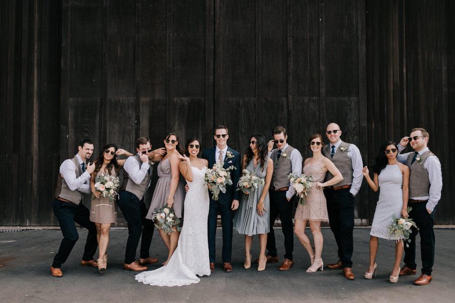 Sunday Funday Wedding, San Diego Wedding, Wedding Planning, San Diego Wedding Planner, Peach and Champagne Wedding
